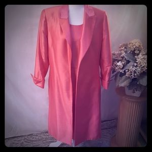 Dress suit sz14 coat sz12 dress CORAL Jones Studio